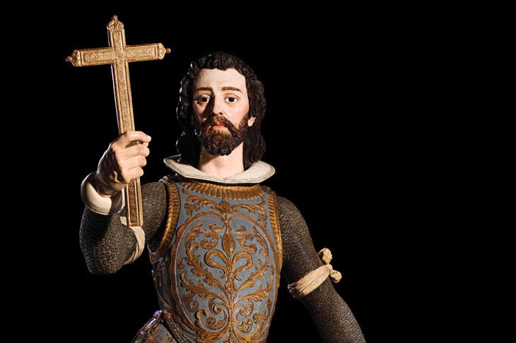 St Louis of France (1620s), Juan de Mesa. Colnaghi at London Art Week