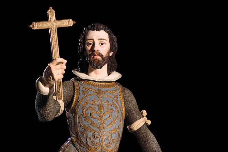 St Louis of France (1620s), Juan de Mesa. Colnaghi at London Art Week