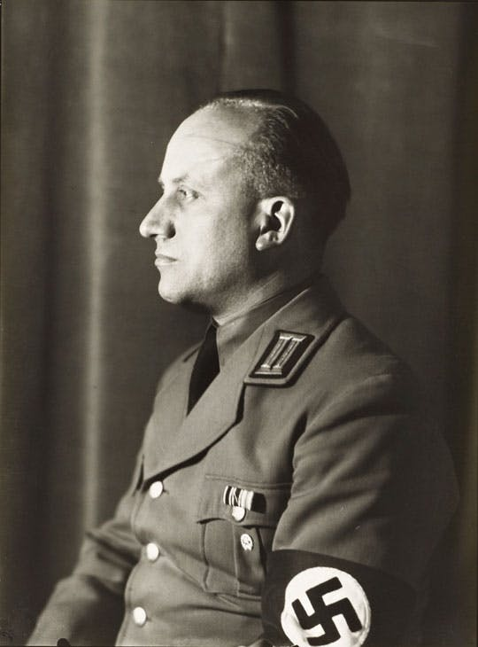 National Socialist, Head of Department of Culture (c. 1938; printed 1990), August Sander. © Die Photographische Sammlung/SK Stiftung Kultur - August Sander Archiv, Cologne; DACS, London, 2017