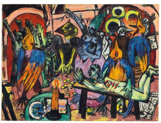 Bird's Hell (1938), Max Beckmann. © Christie's Images Limited 2016