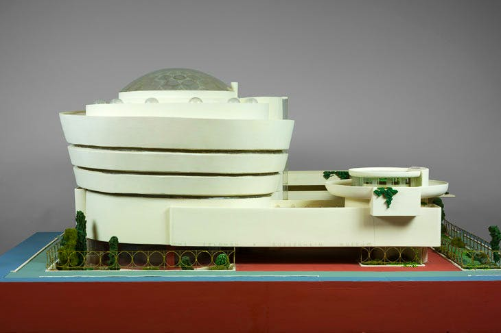 Solomon R. Guggenheim Museum, New York (1943–59), Frank Lloyd Wright. The Frank Lloyd Wright Foundation Archives (The Museum of Modern Art | Avery Architectural & Fine Arts Library, Columbia University, New York)