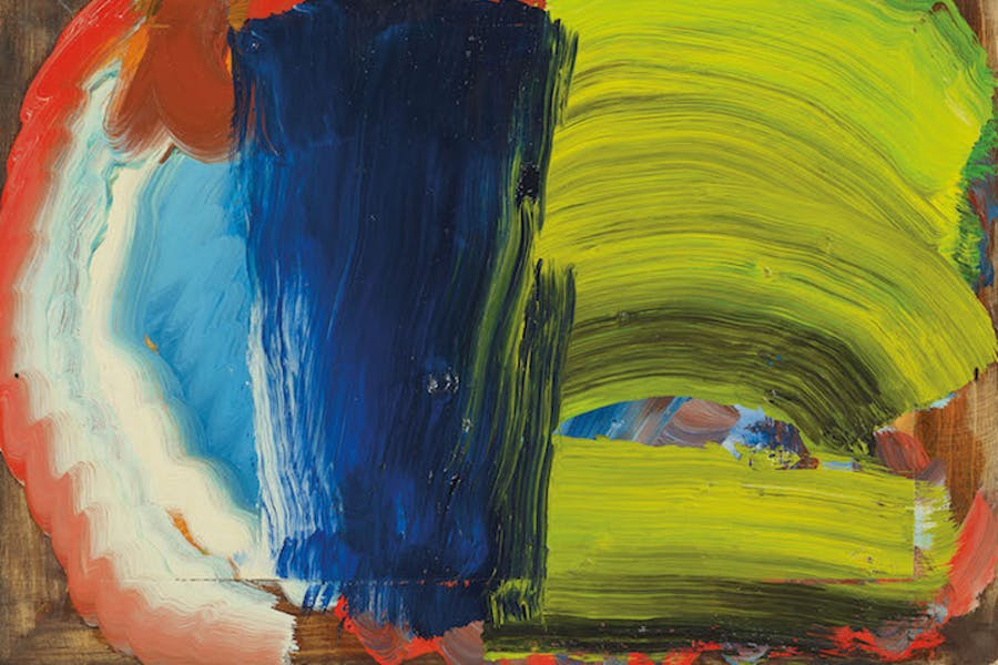 Letters from Bombay (2012-14), Howard Hodgkin. © Howard Hodgkin, Courtesy the artist and Gagosian
