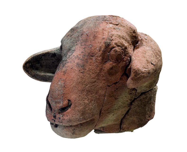 Head of a ewe (c. 3300–2900 BC), Sumerian, Kimbell Art Museum