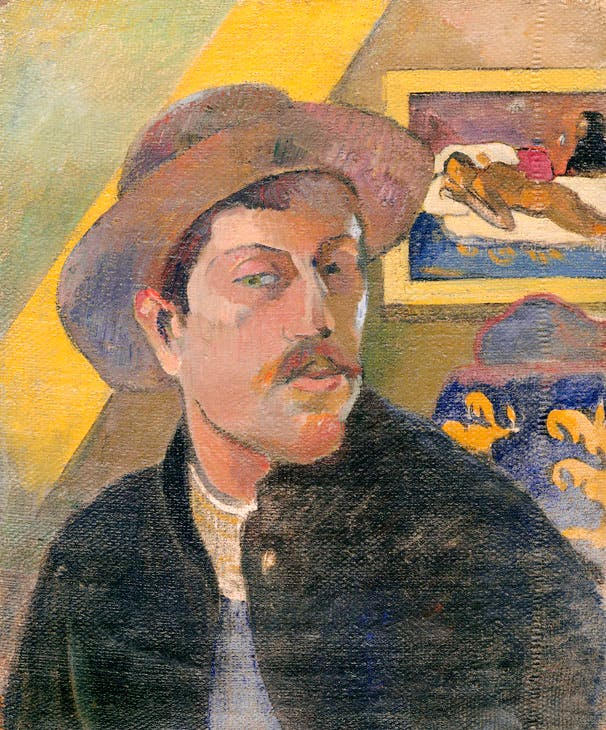 Self-Portrait with Hat (1893–94), Paul Gauguin. Musée d'Orsay, Paris