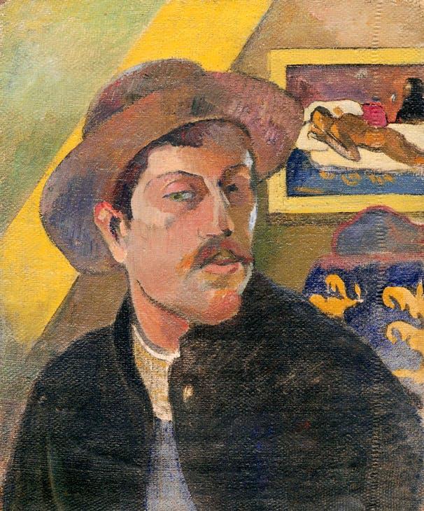 Self-Portrait with Hat (1893–94), Paul Gauguin. Musée d'Orsay, Paris