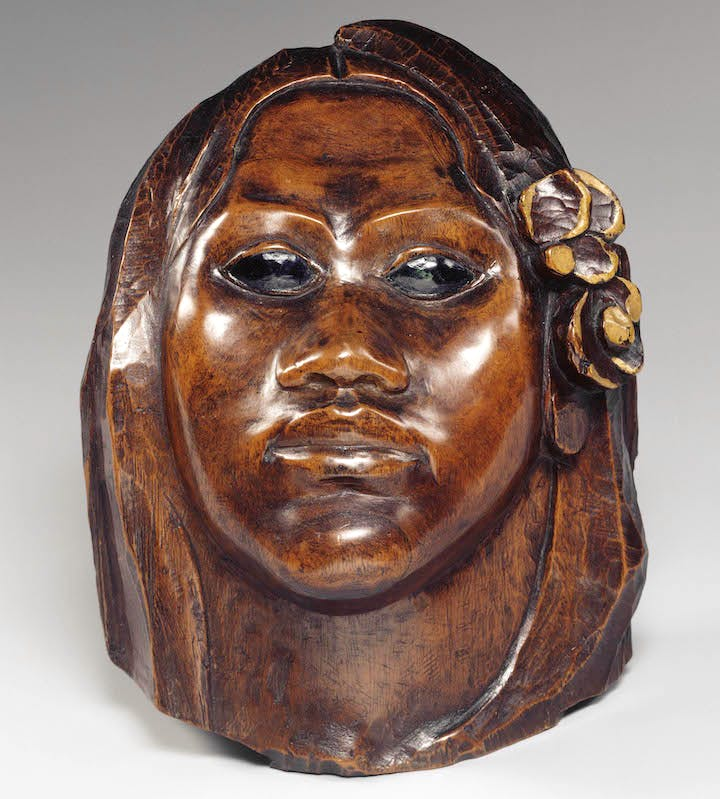 Tehura (also known as Head of Tahitian Woman; about 1892), Paul Gauguin. Musée d'Orsay, Paris