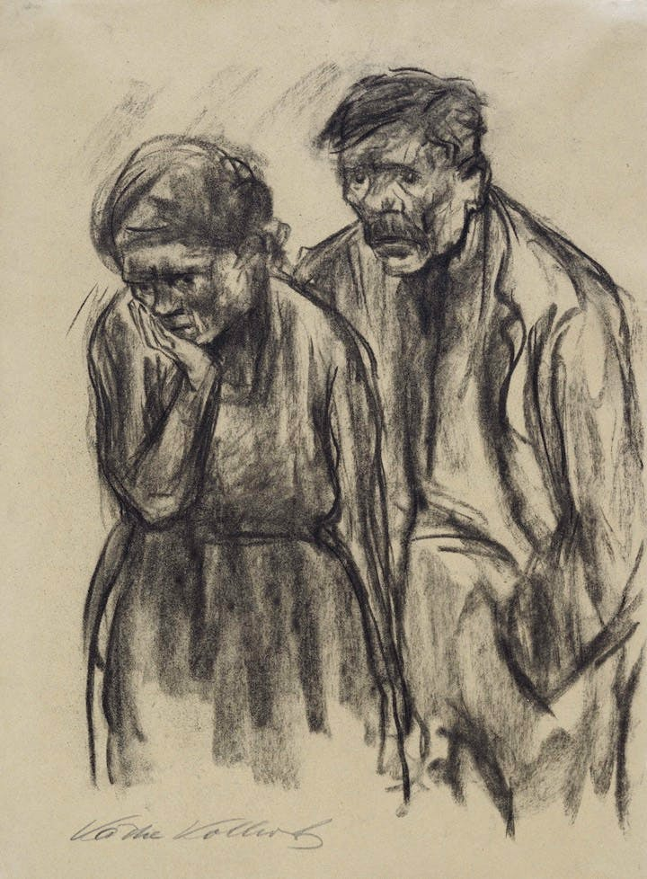 Mann und Frau (1919), Käthe Kollwitz. Photo: Kienzle Oberhammer