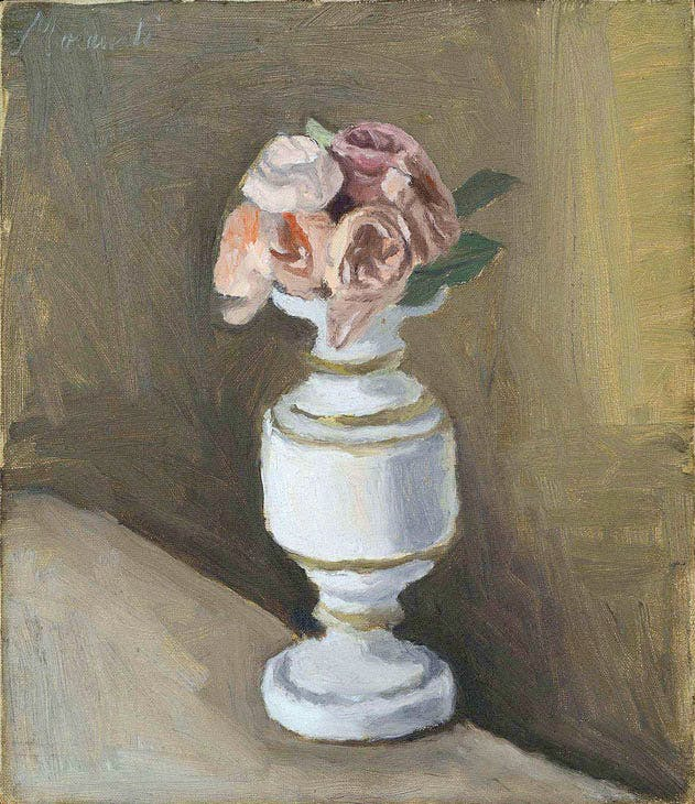 Flowers (1950), Giorgio Morandi. Robilant+Voena at London Art Week