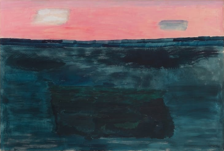 Morning Sky (1964), Milton Avery. Courtesy The Milton and Sally Avery Arts Foundation and Victoria Miro, London. © The Milton and Sally Avery Arts Foundation