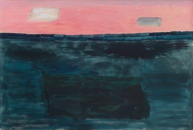 Morning Sky (1964), Milton Avery. Courtesy The Milton and Sally Avery Arts Foundation and Victoria Miro, London. © The Milton and Sally Avery Arts Foundation