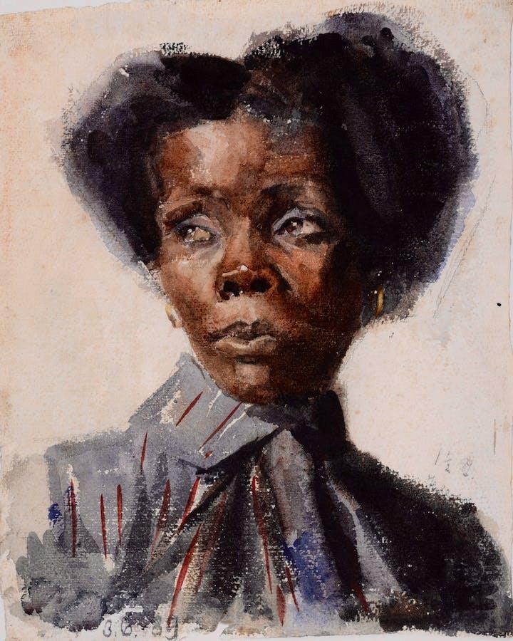 Marianne Fiedler (1889), Käthe Kollwitz. Photo: Kienzle Oberhammer