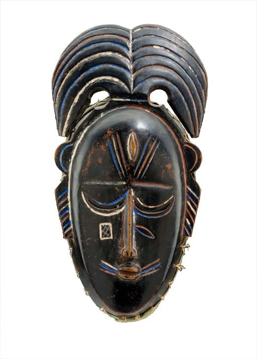Mask, n.d., Ligbi people, Ivory Coast. Mark Eglington at Tribal Art London