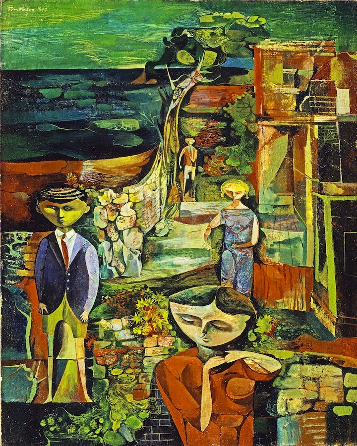 Children by the Sea (1945), John Minton. © Tate, London 2015 / Royal College of Art