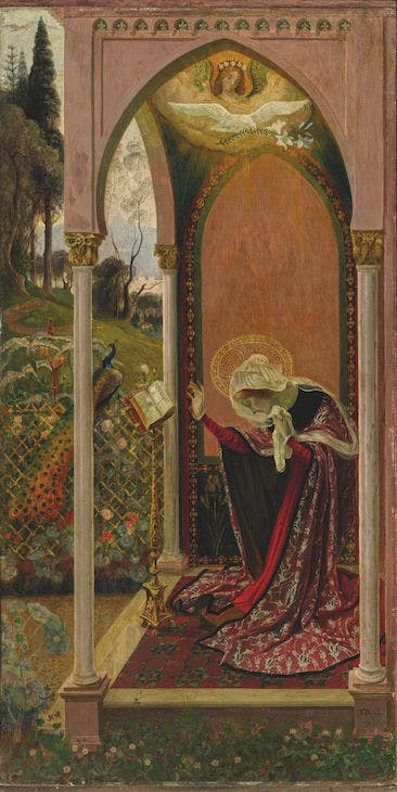 The Annunciation or Ancilla Domini (1895), Armand Point. Private collection. Photo: courtesy Sotheby's