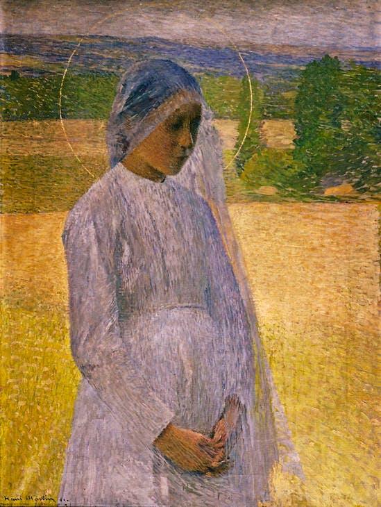 Young Saint (1891), Henri Martin. © Musée des Beaux-Arts, Brest