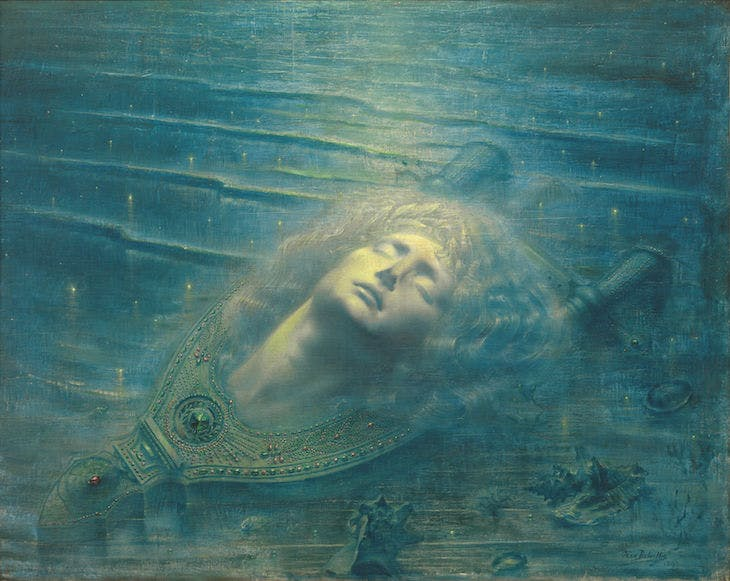 The Death of Orpheus (1893), Jean Delville. Royal Museums of Fine Arts, Belgium. Photo: Royal Museums of Fine Arts, Belgium/J. Geleyns-Ro scan; © 2017 Artists Rights Society (ARS), New York/SABAM, Brussels