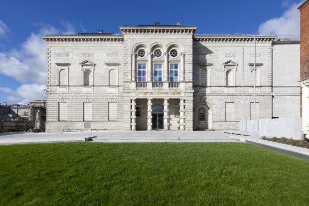 View of the entrance and façade of the National Gallery of Ireland, 2017, Photo: © National Gallery of Ireland