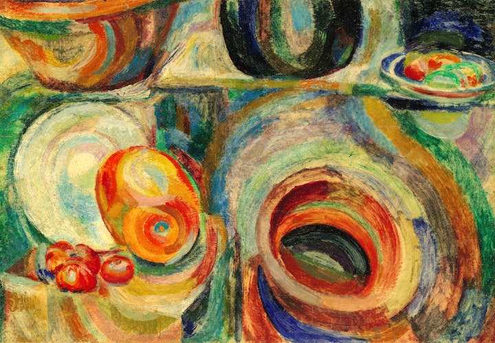 Portuguese Still-Life (1916), Sonia Delaunay. Private Collection. © Pracusa 2017633
