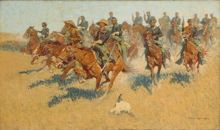 On the Southern Plains (1907), Frederic Remington. The Metropolitan Museum of Art