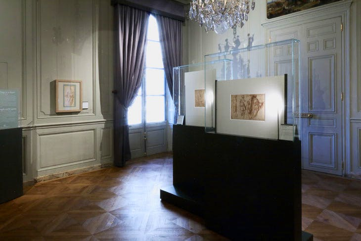 The new Cabinet d'Arts Graphiques of the Musée Condé at Chantilly