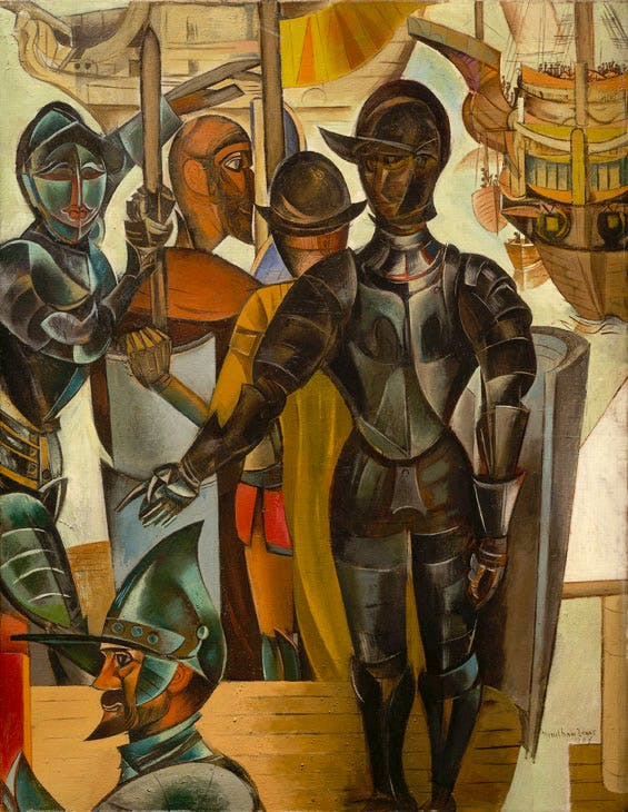 The Armada (1937), Wyndham Lewis. Collection of the Vancouver Art Gallery. ©The Wyndham Lewis Memorial Trust / Bridgeman Images