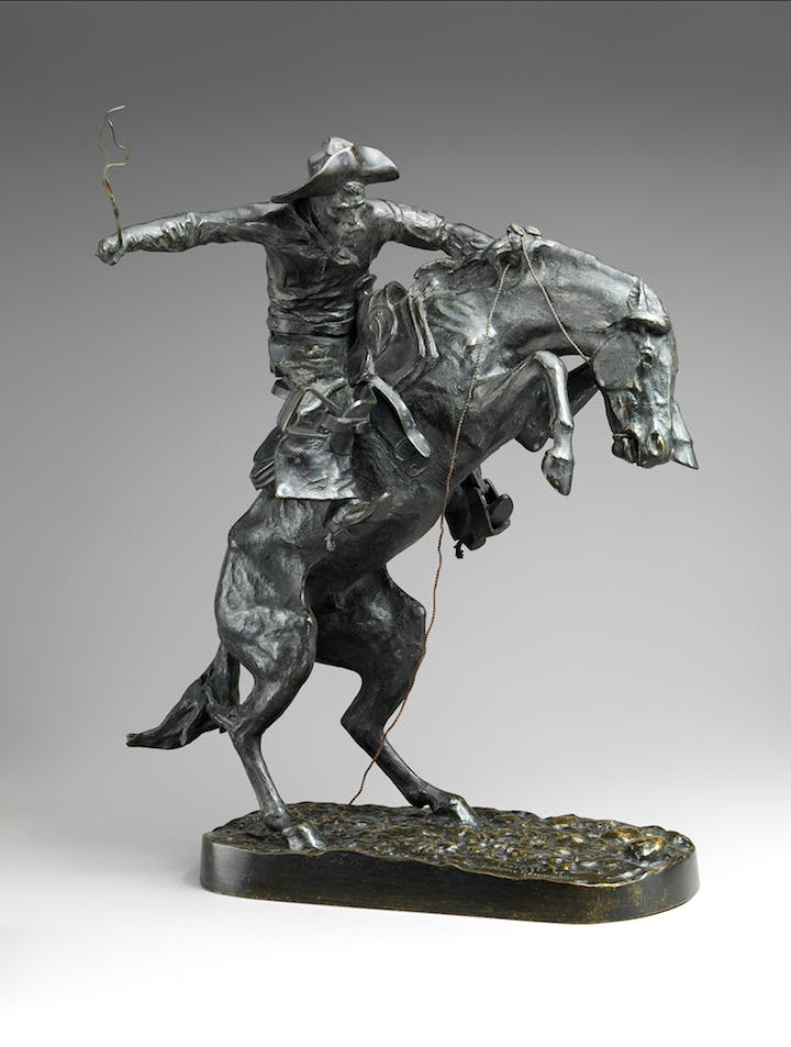 The Broncho Buster (1895; cast 1918), Frederic Remington. The Metropolitan Museum of Art