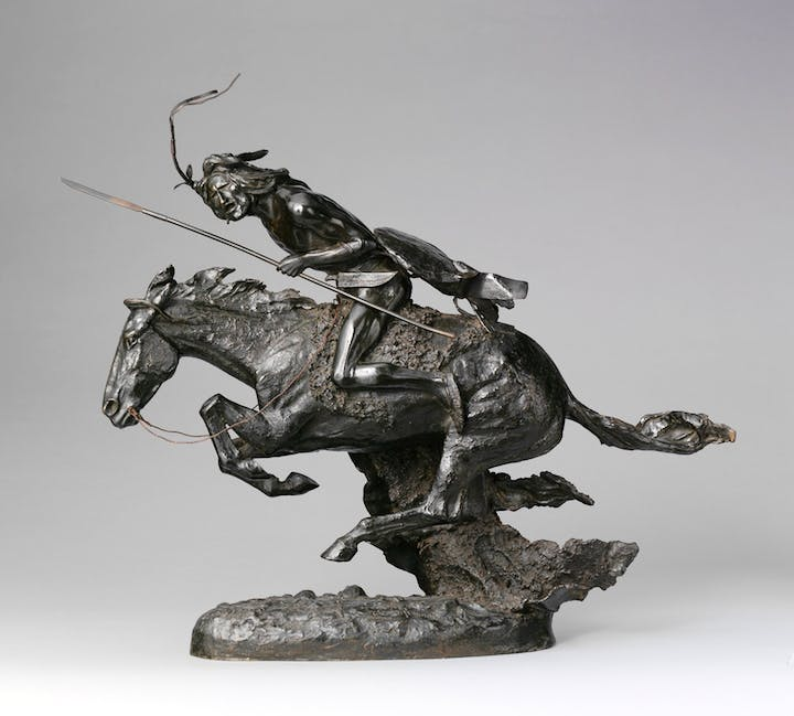 The Cheyenne (1901; cast by 1907), Frederic Remington. The Metropolitan Museum of Art