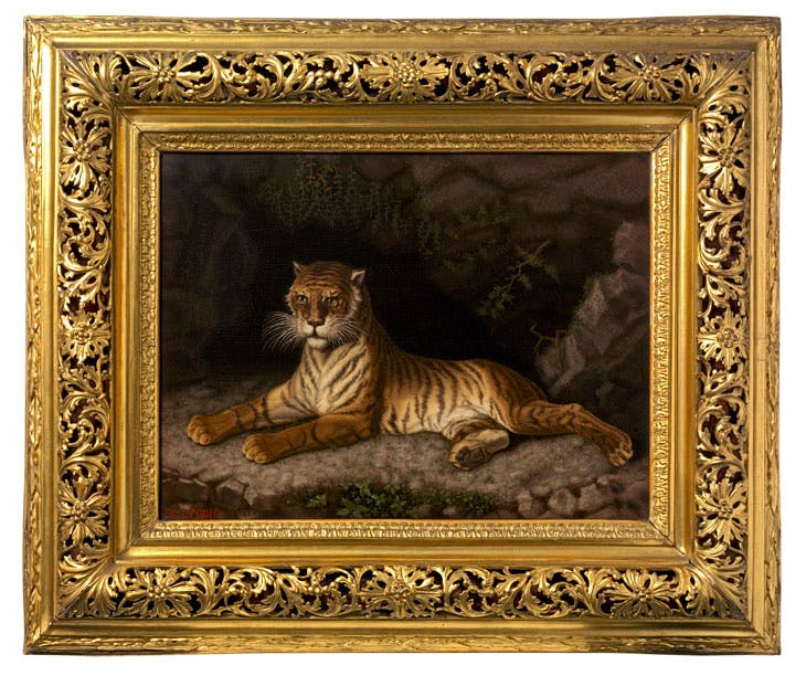 The Tigress (c. 1850–1900), Decio Podio. © Victoria and Albert Museum