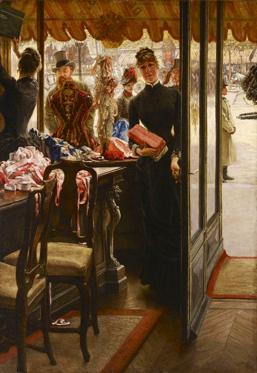 The Shop Girl (1883–85), James Tissot. Art Gallery of Ontario, Toronto. Image courtesy the Fine Arts Museums of San Francisco