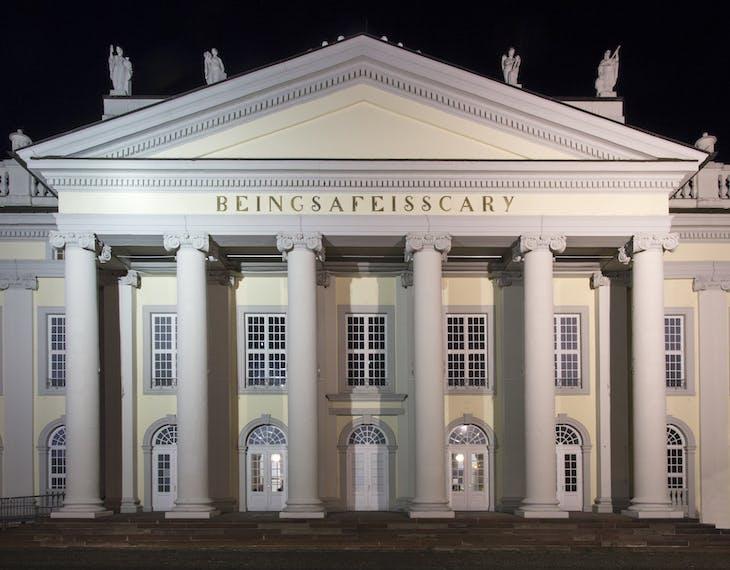BEINGSAFEISSCARY (2017), Banu Cennetoğlu. Fridericianum, Kassel