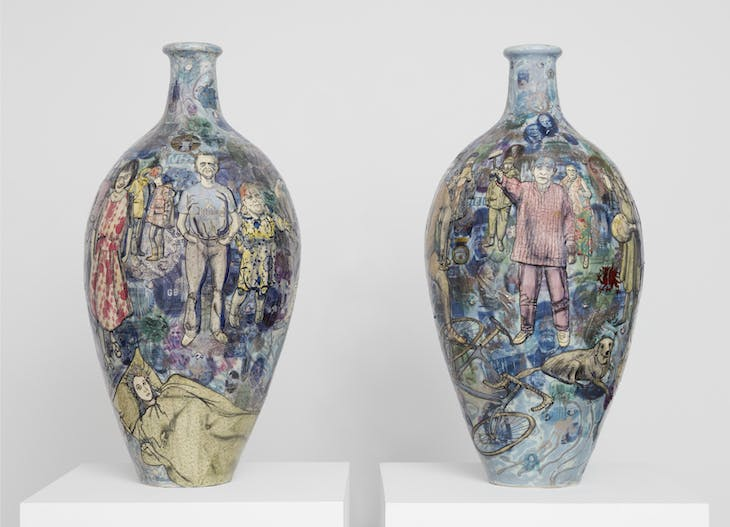 Matching Pair (2017), Grayson Perry. Photo: Robert Glowacki; courtesy the artist and Victoria Miro, London; © Grayson Perry