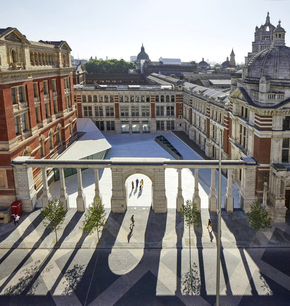 V&A Exhibition Road Quarter, designed by AL_A.