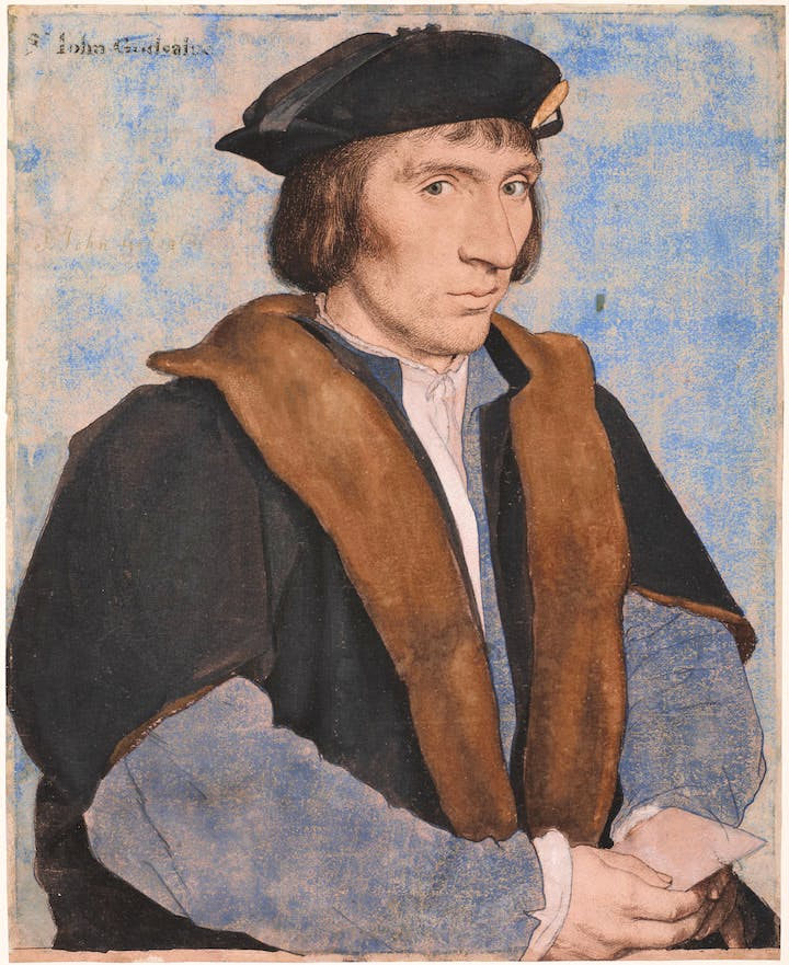 Sir John Godsalve (c. 1532–34), Hans Holbein the Younger. Royal Collection Trust. © Her Majesty Queen Elizabeth II, 2017