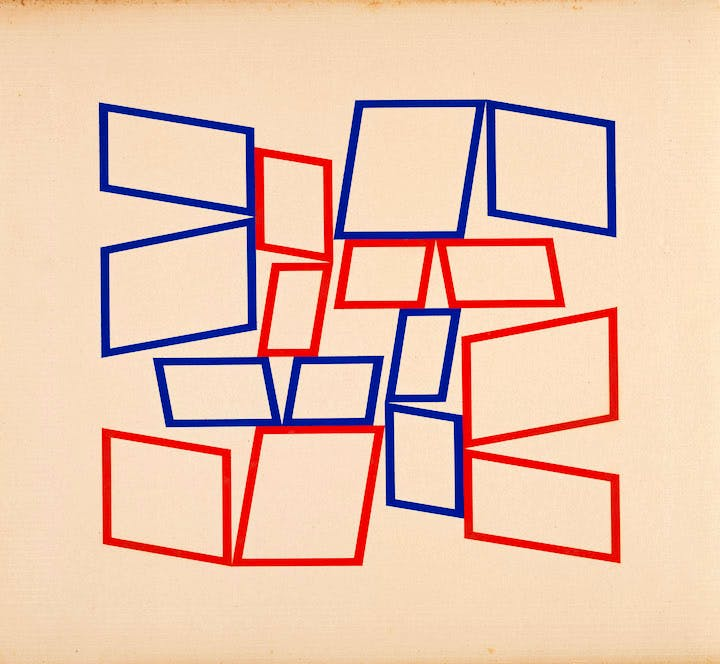 Metaesquema 4066 (1958), Hélio Oiticica. © The Museum of Modern Art/Licensed by SCALA / Art Resource, NY