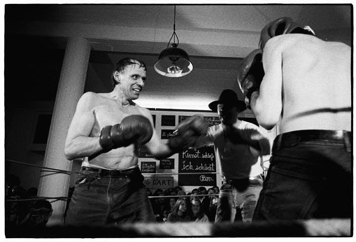 Boxkampf fur die direkte Demokratie at documenta V (1972), Joseph Beuys. © Hans Albrecht Lusznat