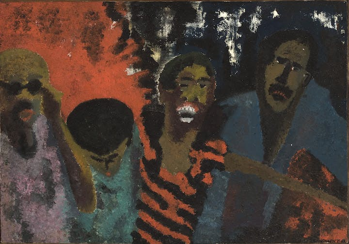 The Fire Next Time (1968), Vincent Smith. Courtesy of Detroit Institute of Arts