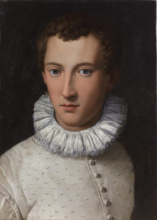 Portrait of a Young Man, (1565–70), Alessandro Allori,