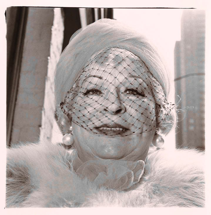 Woman with veil on Fifth Avenue, N.Y.C., 1968 (1968), Diane Arbus. © The Estate of Diane Arbus, LLC