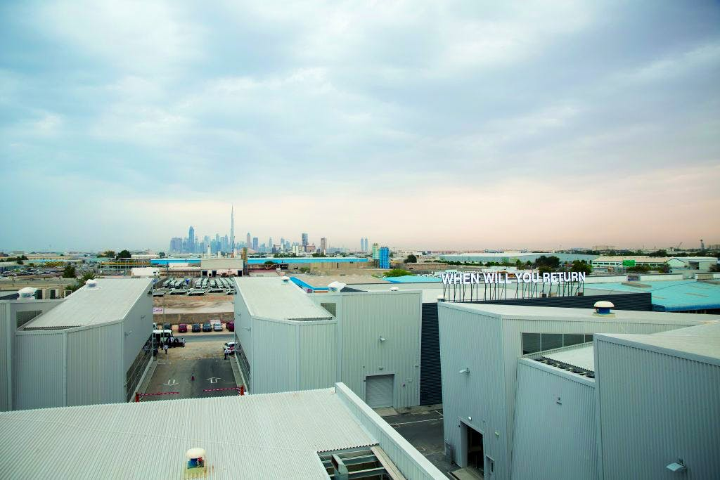 Alserkal Avenue in Al Quoz, Dubai, the city's industrial district