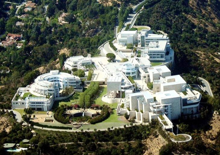 The J. Paul Getty Museum, Los Angeles