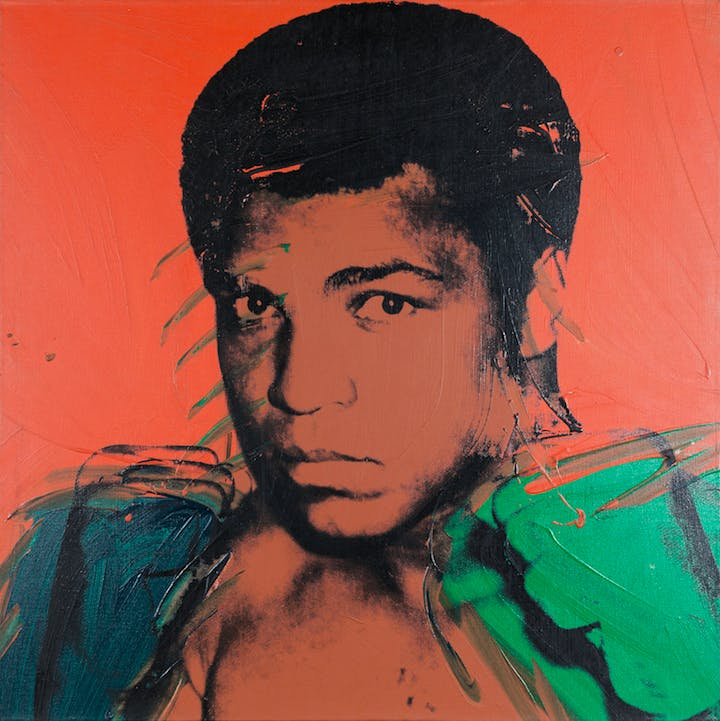 Muhammad Ali (1978), Andy Warhol. © 2017 The Andy Warhol Foundation for the Visual Arts, Inc. /Artists Rights Society (ARS), New York and DACS, London