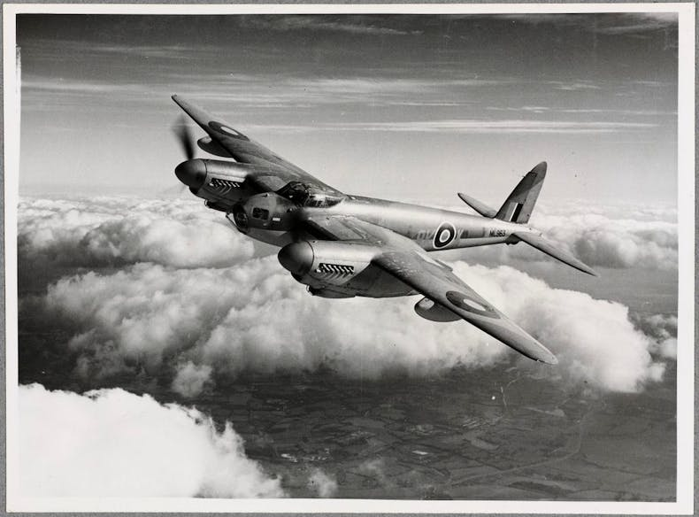 British de Havilland Mosquito (1941). Photo: © de Havilland Aircraft Museum