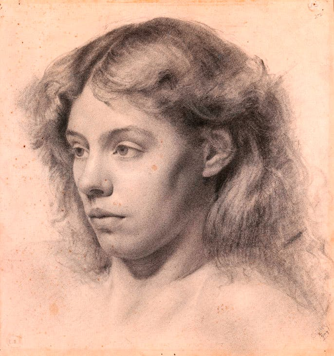 A Girl's Head (1909), Margaret Clarke. © Artist's Estate. Photo © National Gallery of Ireland