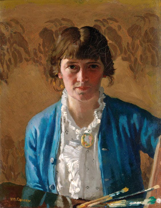 Self-portrait (1914), Margaret Clarke. © Artist's Estate. Photo © National Gallery of Ireland. Photographer: Roy Hewson
