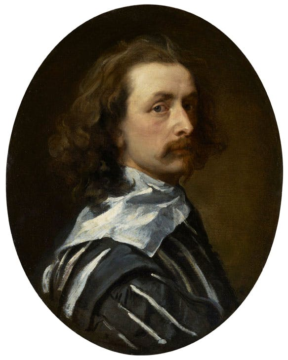 Sir Anthony Van Dyck (c. 1640), Anthony Van Dyck. National Portrait Gallery, London