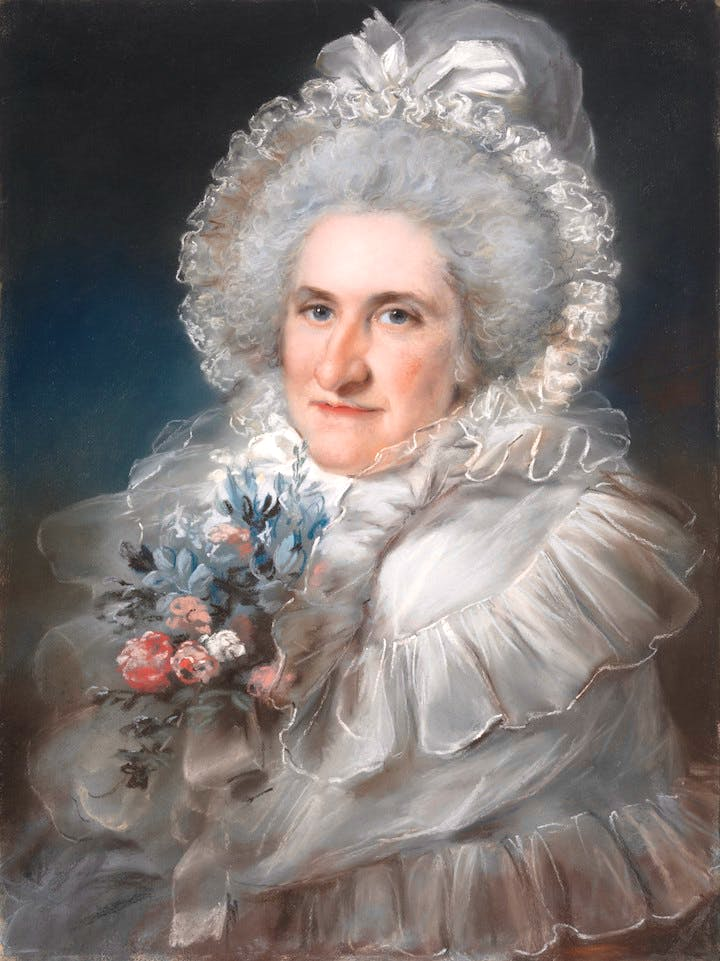 Mrs. William Man Godschall (1791), John Russell. Courtesy of the Metropolitan Museum of Art