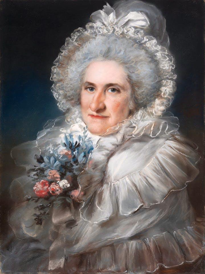 Mrs. William Man Godschall (1791), John Russell. Courtesy of the Metropolitan Museum of Art