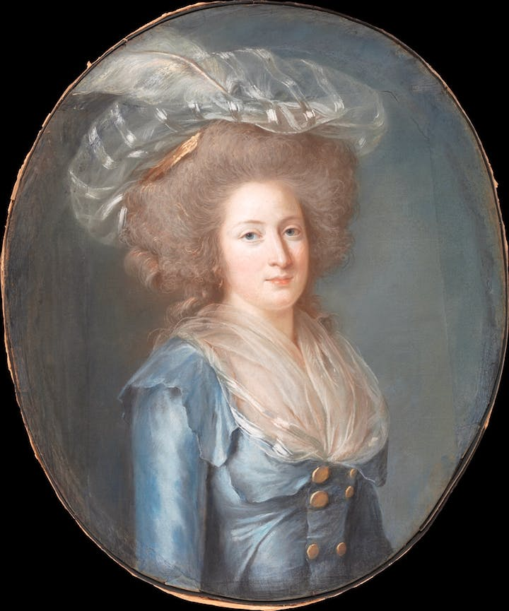 Madame Élisabeth de France (ca. 1787), Adélaïde Labille-Guiard. Courtesy of the Metropolitan Museum of Art