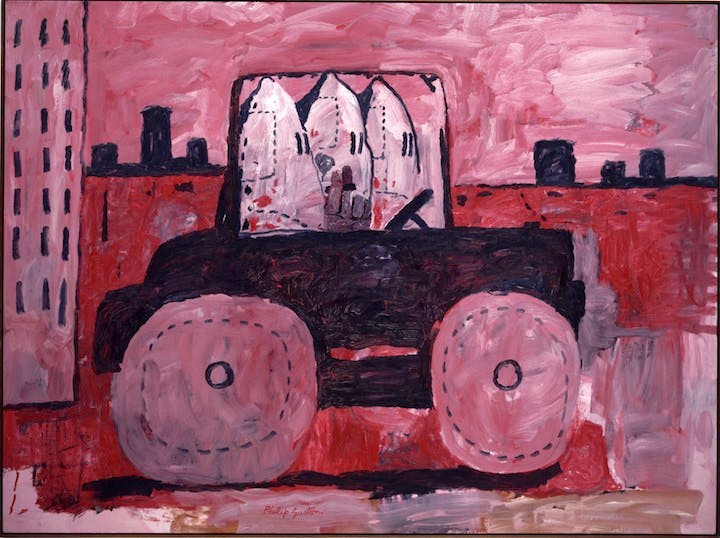 City Limits (1969), Philip Guston. Museum of Modern Art, New York
