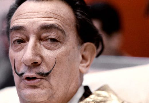 Picture taken on December 1971 of Spanish artist Salvador Dali. Photo by -/AFP via Getty Images